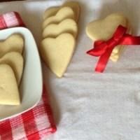 Galletas de mantequilla y almendra.... Un detalle para regalar