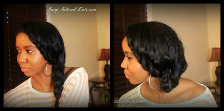 Prom, Wedding, special occasion hairstyles on natural hair
