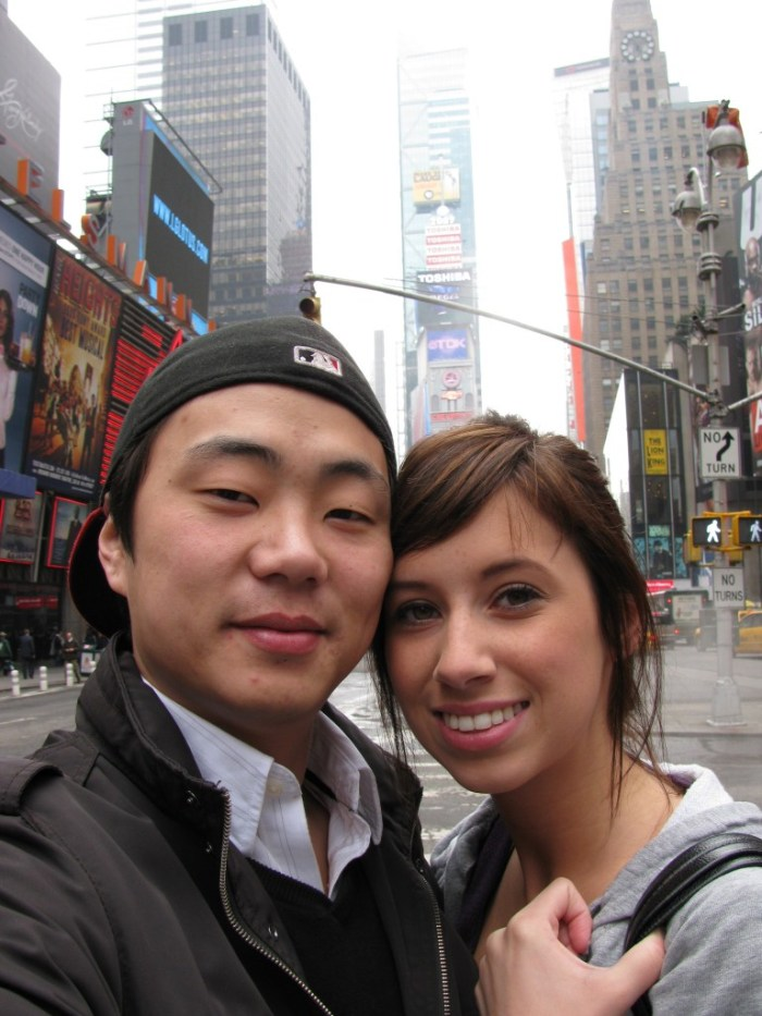 Times Square With Dave 2009