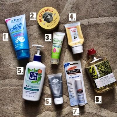 Current Skincare Favorites