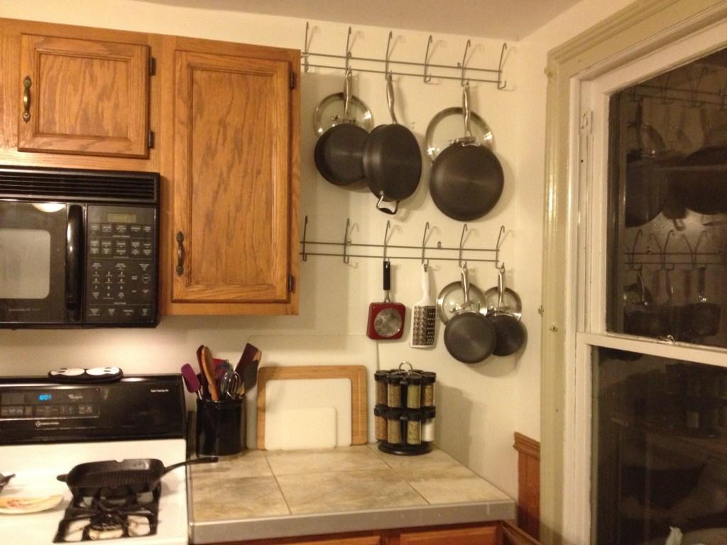 DIY Pan Rack