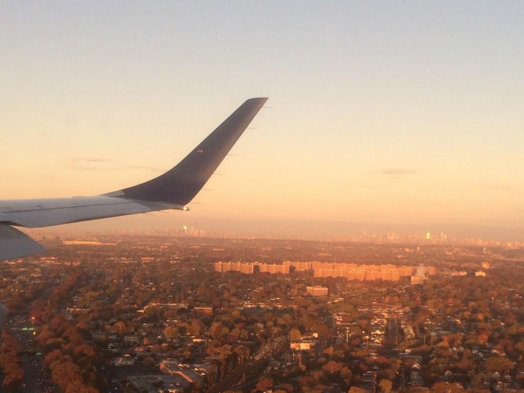 Flight to NYC