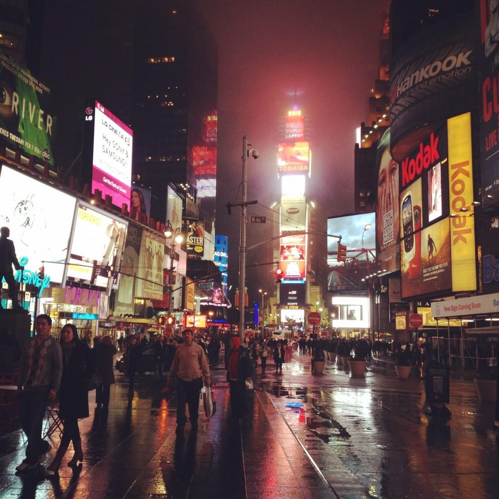 Times Square, yo