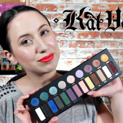 Kat Von D MetalMatte Palette First Impression & Swatches