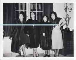 Elaine Barrie Barrymore+ her mother Mrs Louis Jacobs + Ida + Mitzi watermark