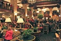 The Peabody Hotel Lobby