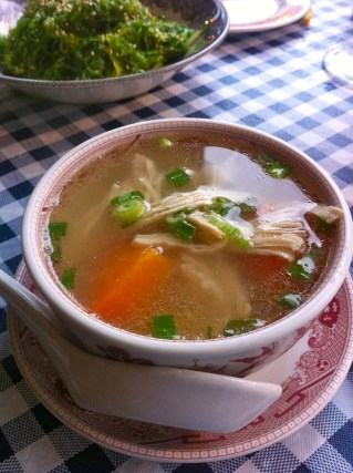 Ping Pong Chicken Soup