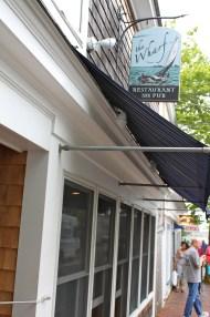 The Wharf Restaurant and Pub Entrance