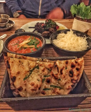 Garlic Naan Dishoom London