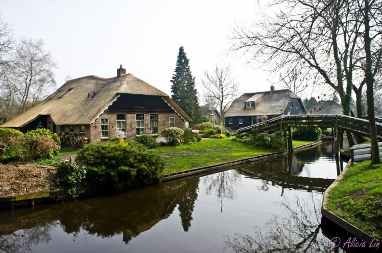 荷蘭 – 羊角村 (Giethoorn)   Alicia's Travel Planet