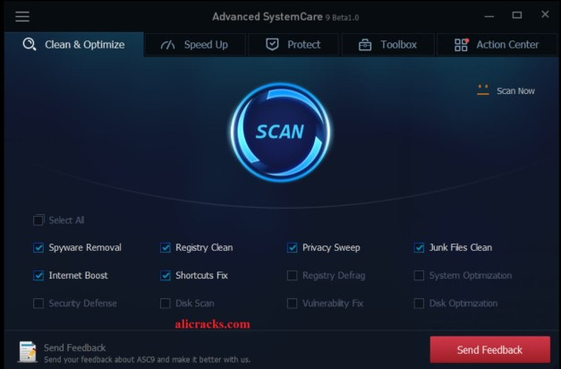 Advanced Systemcare 11 Crack Pro Serial Key Free Download