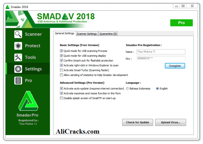 Smadav Pro 2018 Crack + Serial Key 11.8 Download