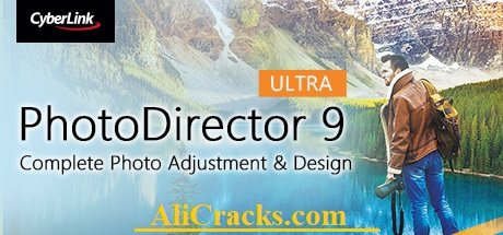 CyberLink PhotoDirector Ultra 9 Crack + Registration Key Download at alicracks.com