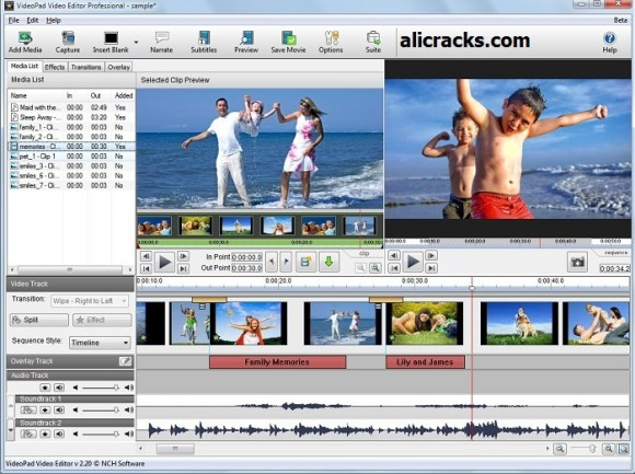 VSDC Free Video Editor 5.8.7 Crack & Activation Key Download