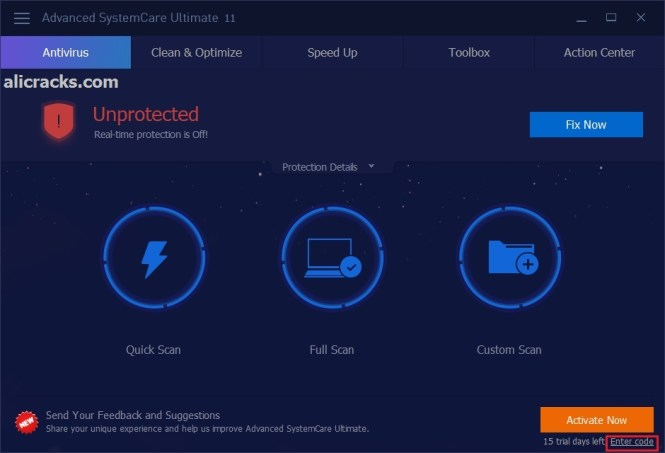 Advanced SystemCare 11.4 Crack & Serial Key 2018