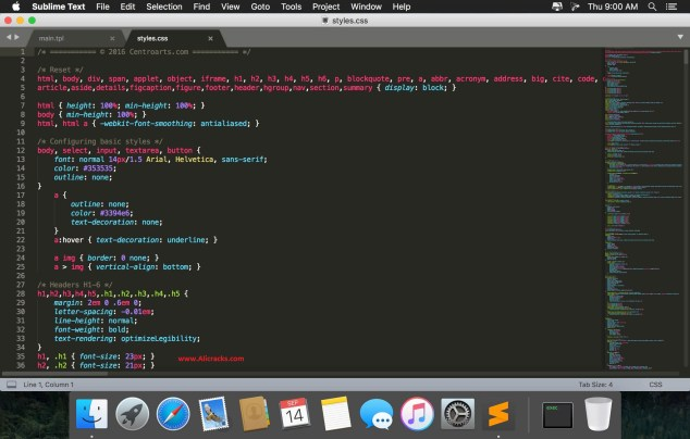 Sublime Text 3.1.1 Crack Full License Key Free Download
