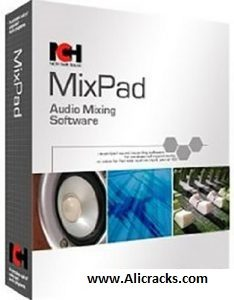 MixPad 5.11 Crack & Registration Code 2018 Download