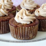 Pineapple Zucchini Cupcakes with Cinnamon Cream Cheese Frosting