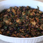 Vegetable and Black Bean Tortilla Casserole