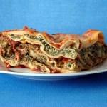 Easy Spinach & Cheese Lasagna