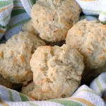Parmesan-Black Pepper Drop Biscuits