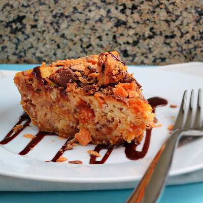 easy peanut butter butterfinger candy cheesecake pie