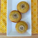 Banana Cornbread Muffins