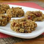 Healthy Banana Cookies - vegan, no added sugar and nut free   alidaskitchen.com