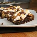 S'mores Brownies #SundaySupper