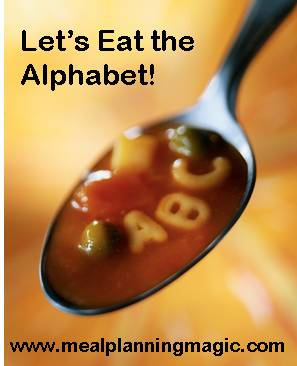 Eating Alphabet