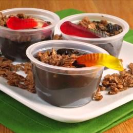 Cocoa Pebbles Dirt Pudding {alidaskitchen.com}