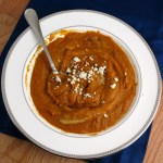 Chipotle Sweet Potato Soup #SundaySupper