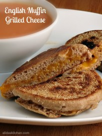 English Muffin Grilled Cheese My Site