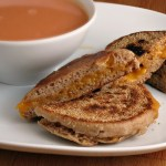 English Muffin Grilled Cheese