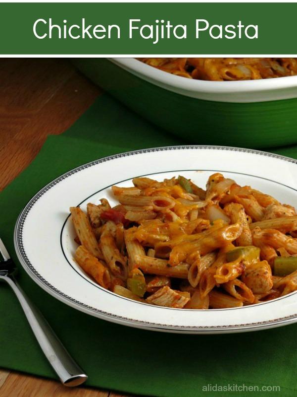 Chicken Fajita Pasta Quick Family Meals My Site