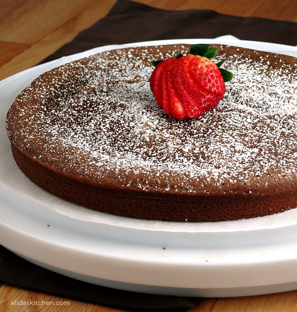 Chocolate Chickpea Cake | alidaskitchen.com #recipes #glutenfree #healthy #EatAtoZChallenge