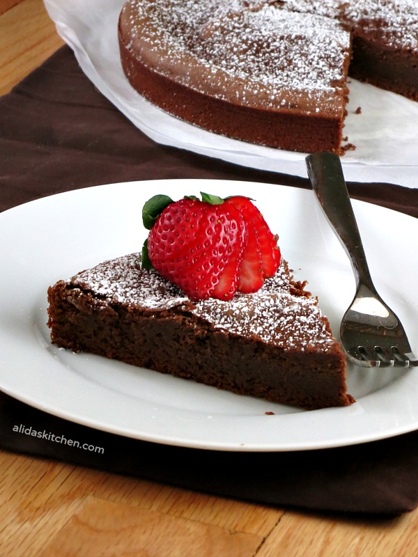 Chocolate Chickpea Cake | alidaskitchen.com #recipes #healthy #glutenfree #EatAtoZChallenge