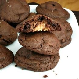Salted Caramel Chocolate Cookies - Alida's Kitchen