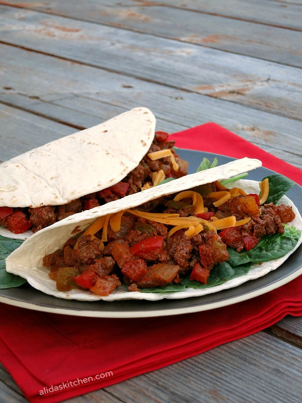 Lighter Chipotle Beef Tacos #SundaySupper #ChooseDreams