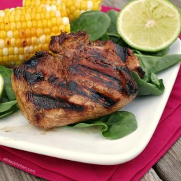 Grilled Honey Lime Chicken #SundaySupper - Alida's Kitchen