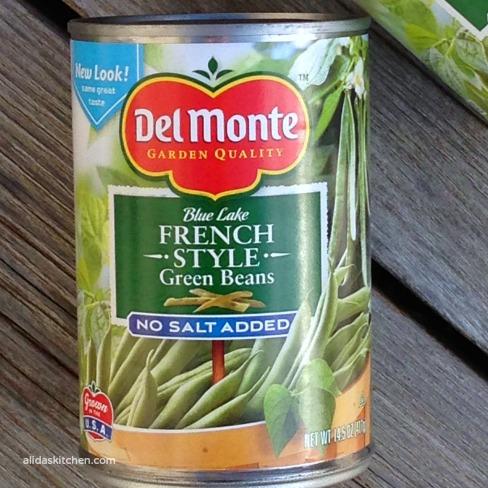 Cheesy Green Bean Casserole   alidaskitchen.com #recipes