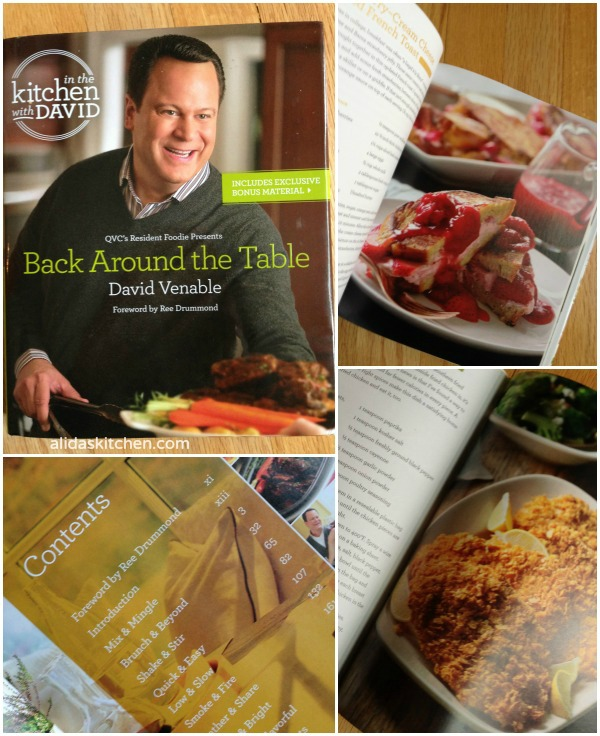 "QVC's Back Around the Table: An ""In the Kitchen with David"" Cookbook"