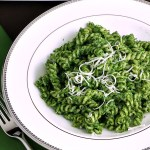 Spinach Pesto Pasta #WeekdaySupper
