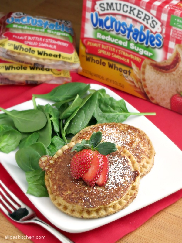 Uncrustables French Toast | alidaskitchen.com