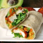 Easy Buffalo Chicken Avocado Wrap