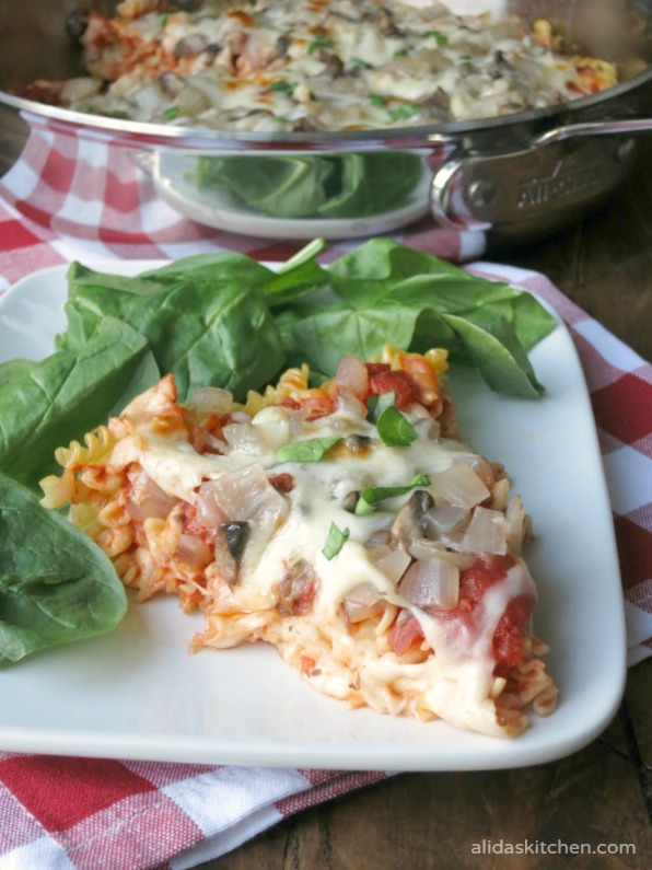 Pasta Pizza Pie | alidaskitchen.com
