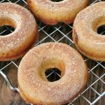 Cinnamon Buttermilk Baked Doughnuts