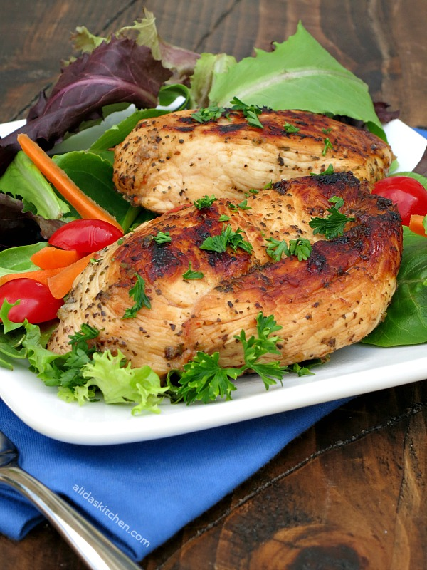 Easy Herb Grilled Chicken | alidaskitchen.com
