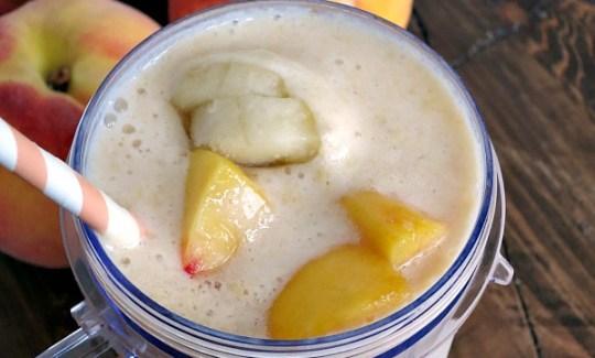 Peach Banana Smoothie