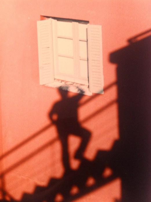 Self Portrait in La Boca, Buenos Aires.